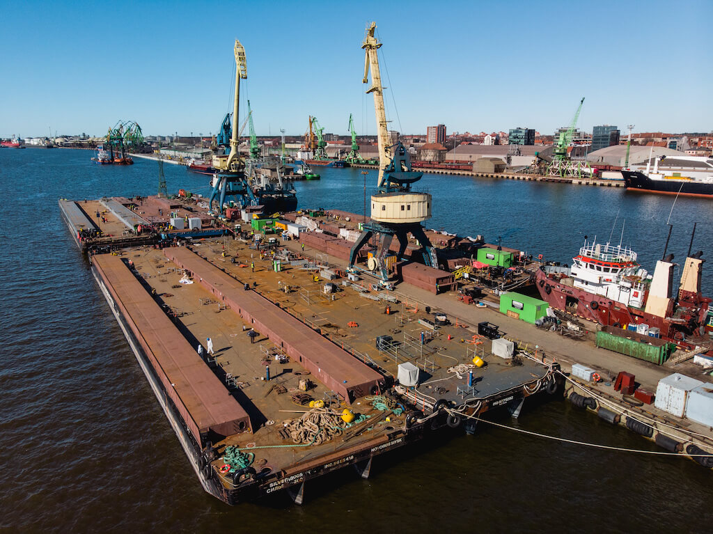Upgrading Barges